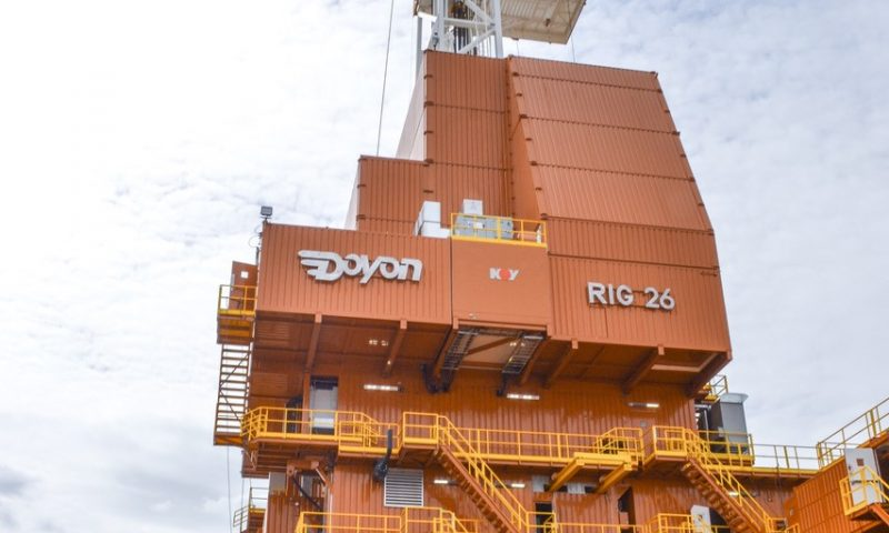 ConocoPhillips's Doyon 26 ERD Rig Being Reassembled