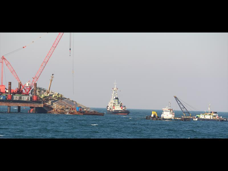 MV SMART Wreck Removal, South Africa
