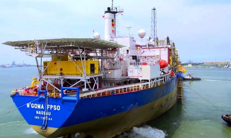 SBM Offshore FPSO N'Goma