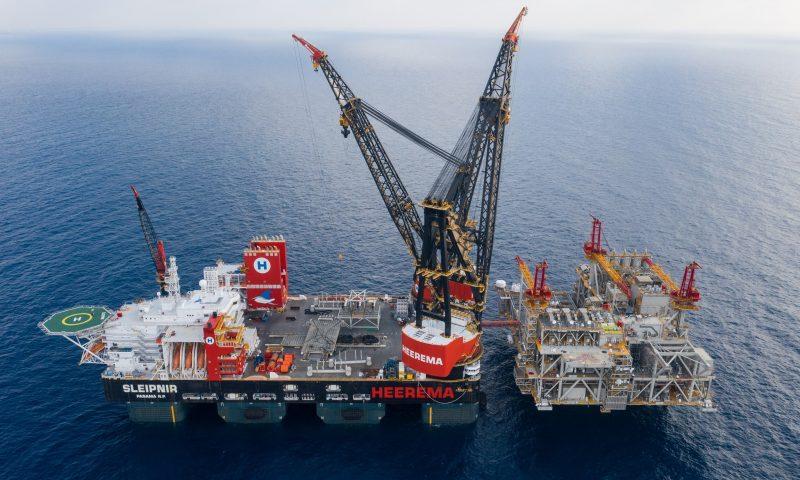 Heerema Sleipnir, World's Biggest Semi-Submersible Crane Vessel
