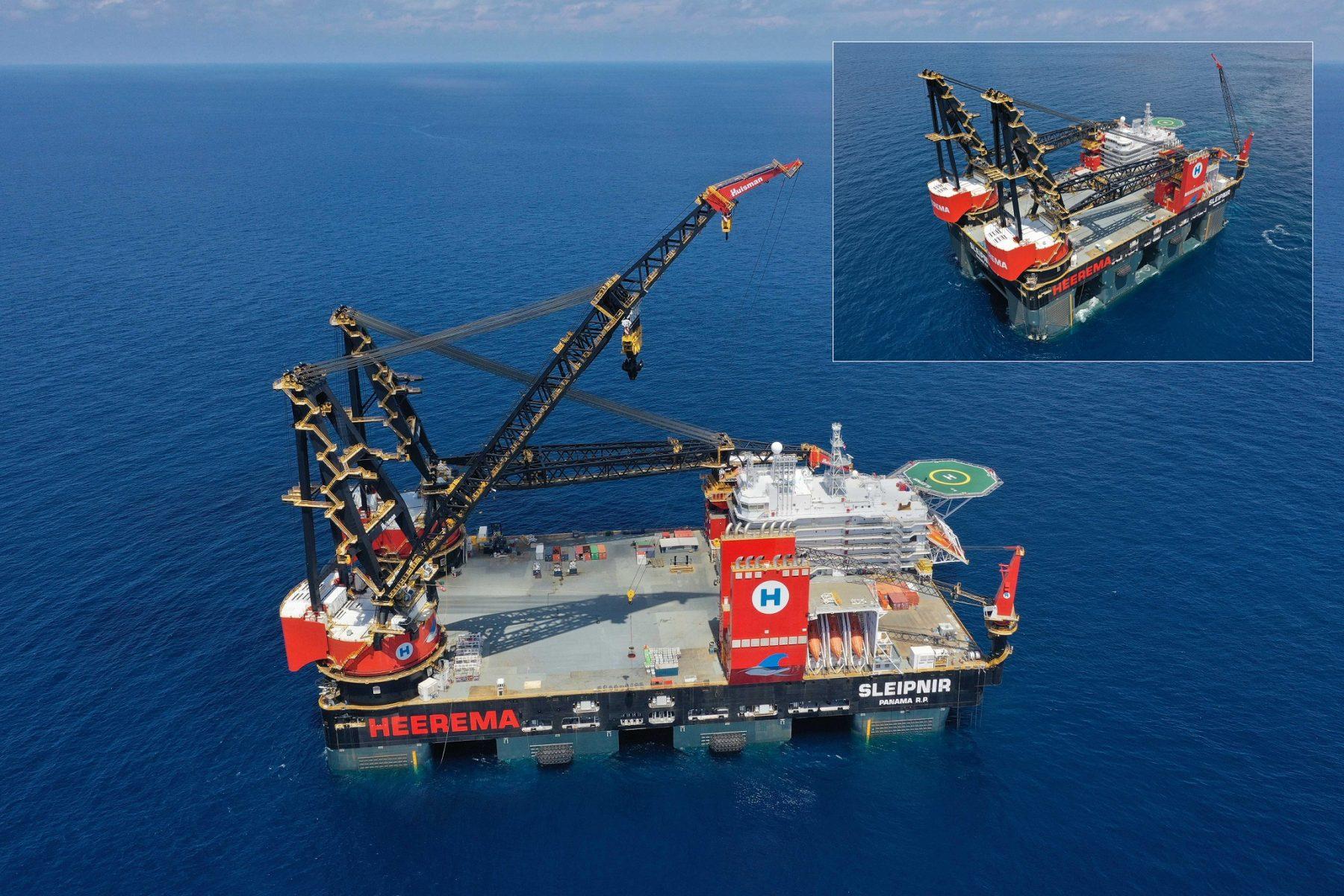 Heerema's Sleipnir, the World's Biggest Semi-Submersible Crane Vessel