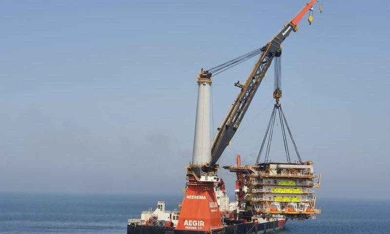 Heerema´s Aegir Completes Installation for Qatargas