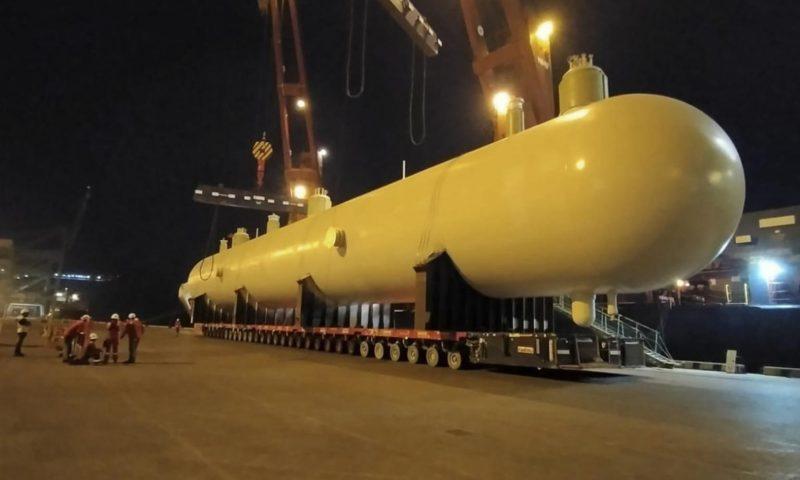 Fagioli loadout, load in heavy transport Bahrain