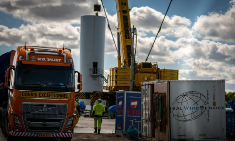 Global Wind Service on Wieringermeer Extension, Nordex Group