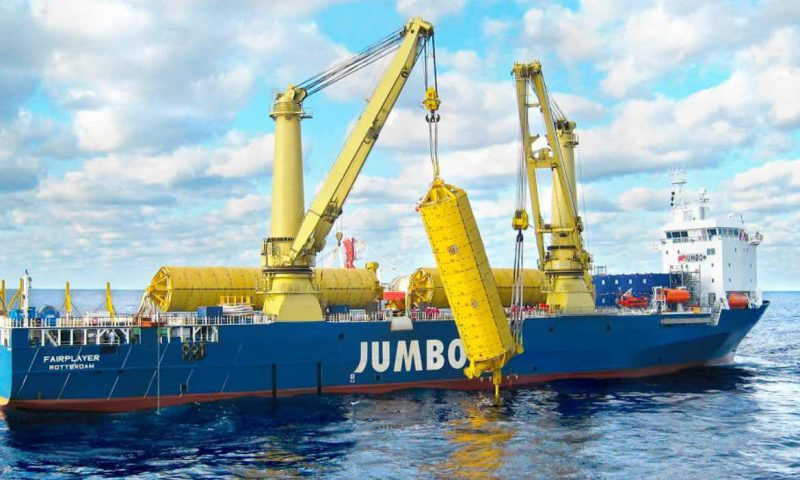 Jumbo Maritime Fairplayer offshore construction heavy lifting