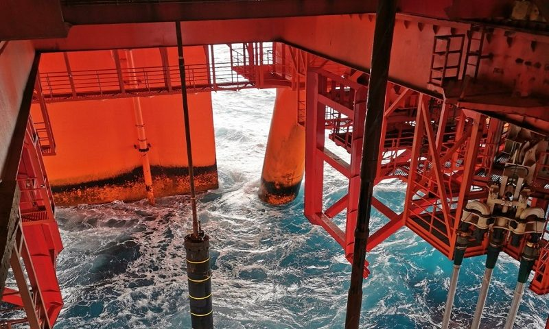 Offshore Drilling. First time Dual Drilling Subsea , Neptune Energy and Seadrill, North Sea Oil and Gas