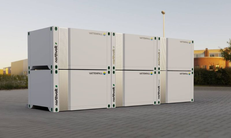 Northvolt has launched a new battery energy storage solution, Voltpack Mobile System
