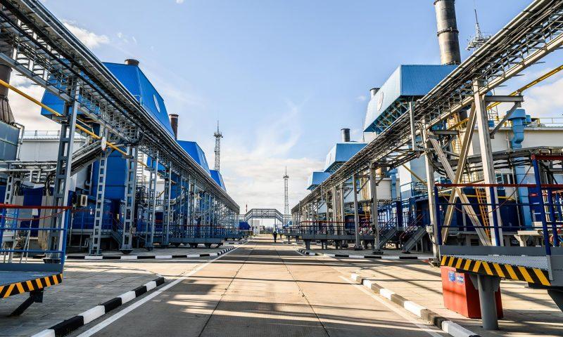 Natural Gas Refinery, Severneftegazprom, a joint venture between Gazprom, Wintershall Dea