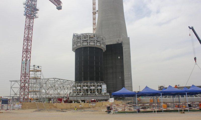 Skidding MSR PV Hybrid Power Plant MBR Solar Park, Dubai