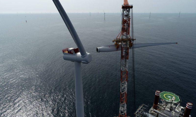Ørsted Celebrates Installation of Offshore Wind Turbine Number 1,500