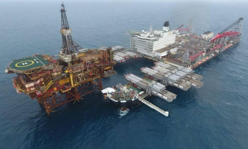Allseas' Pioneering Spirit Decommissioning Brent Field