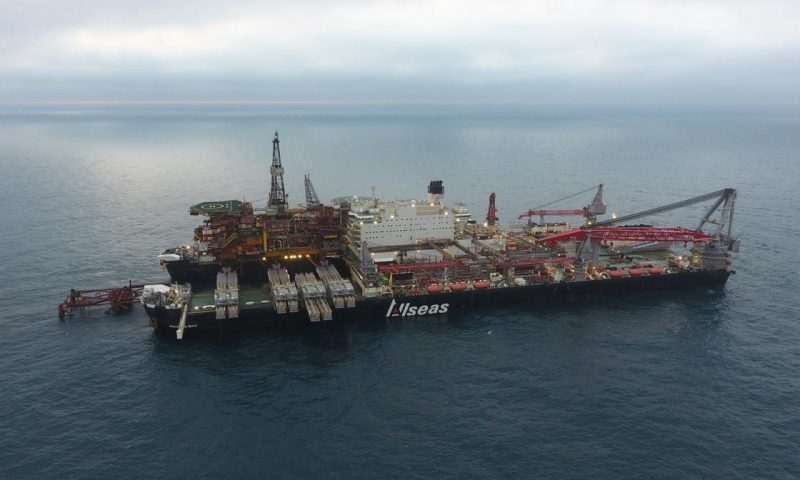 Allseas' Pioneering Spirit Decommissioning Brent Field