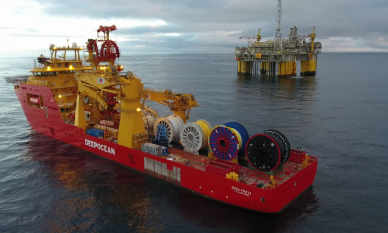 DeepOcean Awarded Contract by Repsol for YME Beta North Tie-Back