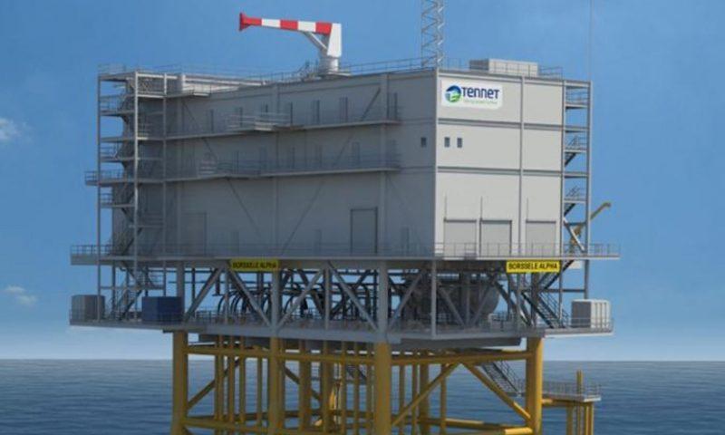 ENGIE Fabricom, Smulders, Hollandse Kust Noord offshore transformer station