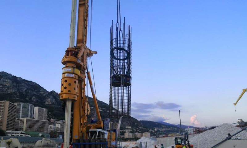 FUGRO Performs Monaco´s First O-Cell Pile Test