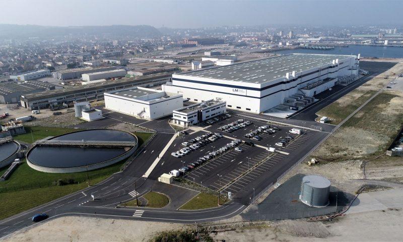GE Renewable Energy Wind Turbine Blade Factory Cherbourg, France