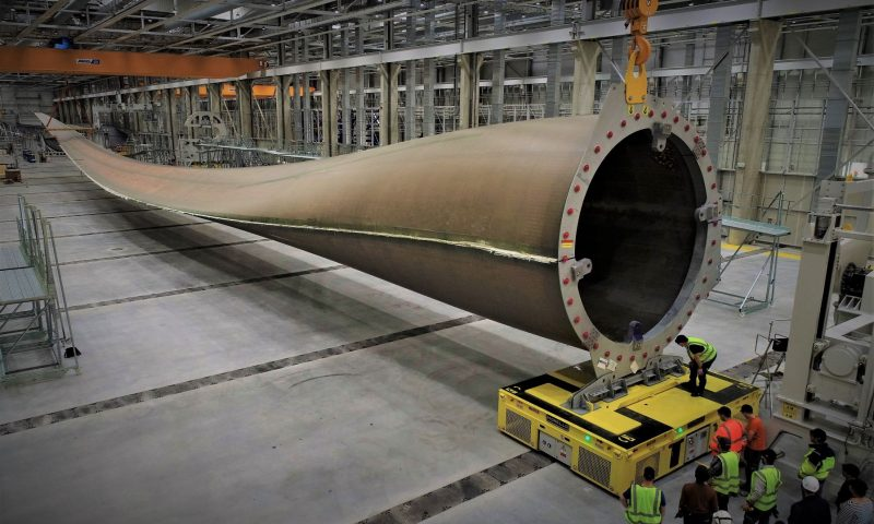 GE Renewables' Haliade-X 12 MW Offshore Wind Turbine Blade