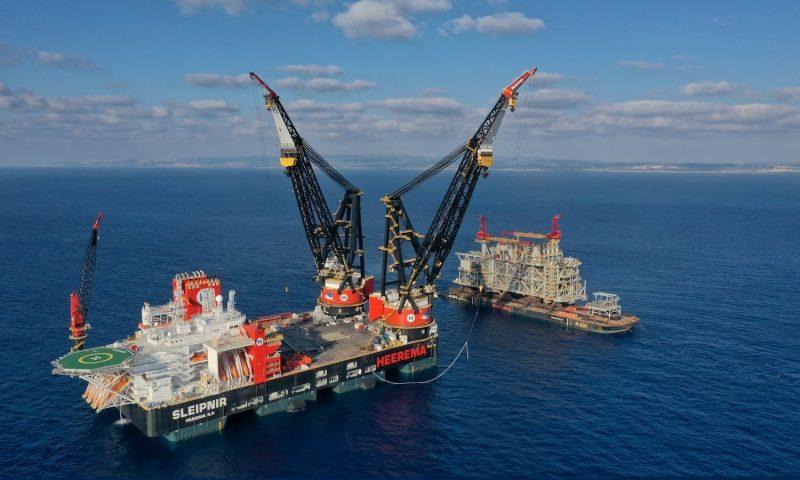 Heerema Marine Contractors Sleipnir Heavy lifting crane vessel