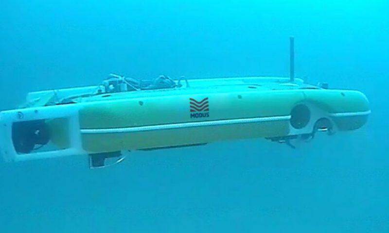 Hybrid AUV Completes Survey at Gwynt-y-Mor Offshore Wind Farm