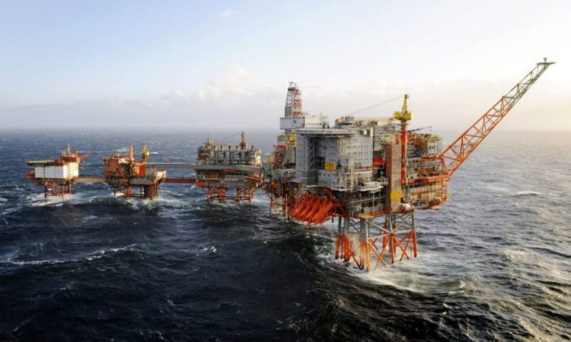 Kvaerner decommissioning Valhall field with Allseas