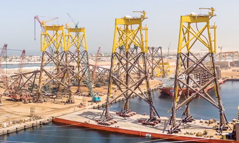 Lamprell Bags Seagreen Wind Farm Foundations Contract