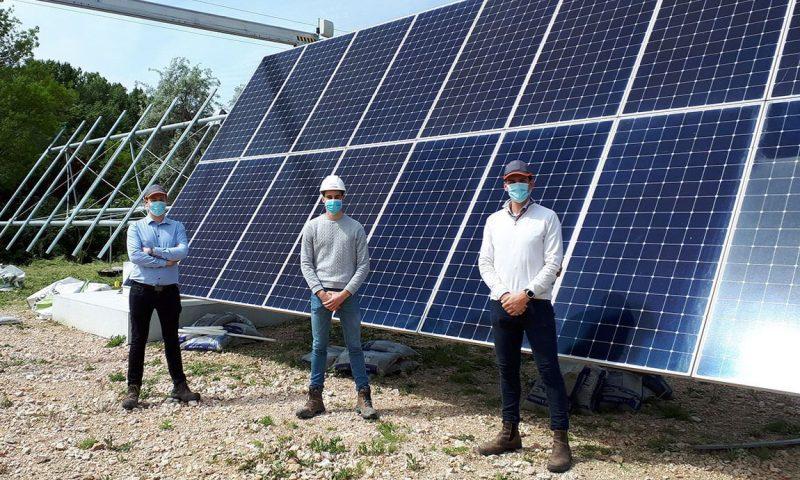 Nexans Solar Technologies KEYLIOS® Solar Trackers, Reden's solar parks France
