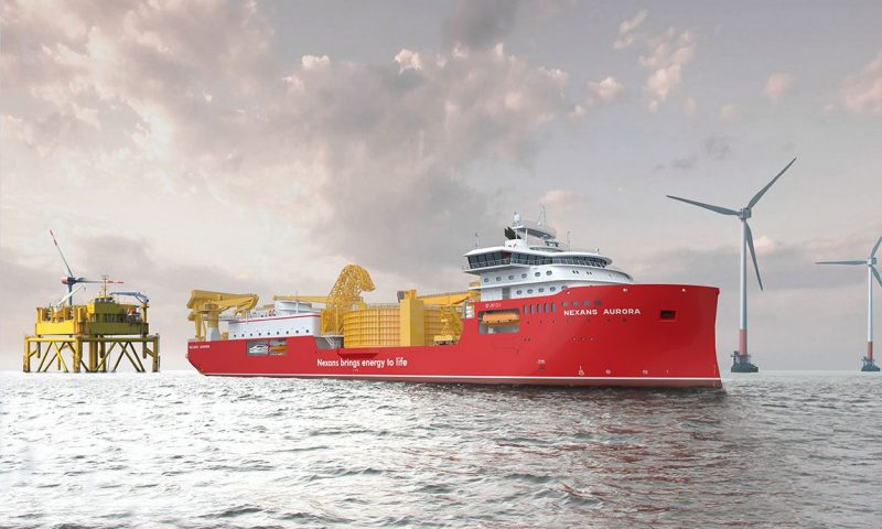 Nexans to Supply Export Cables for Seagreen Offshore Windfarm Project