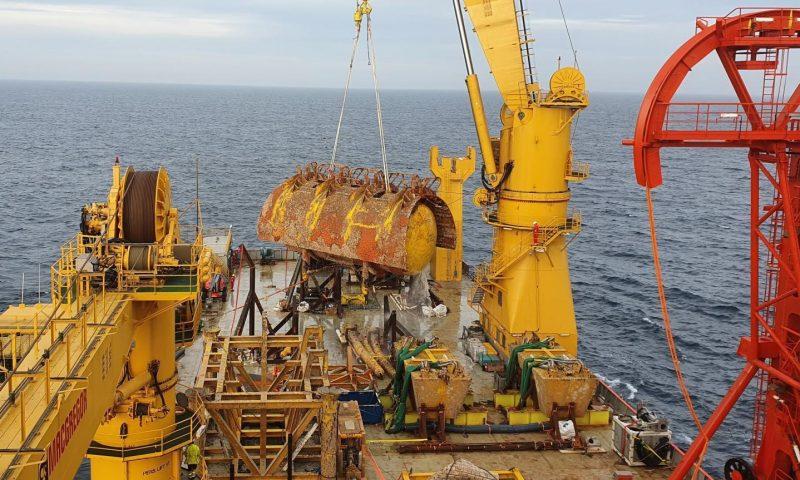 Ocean Installer Decommissioned Subsea Structures for Vår Energi's Balder Project.
