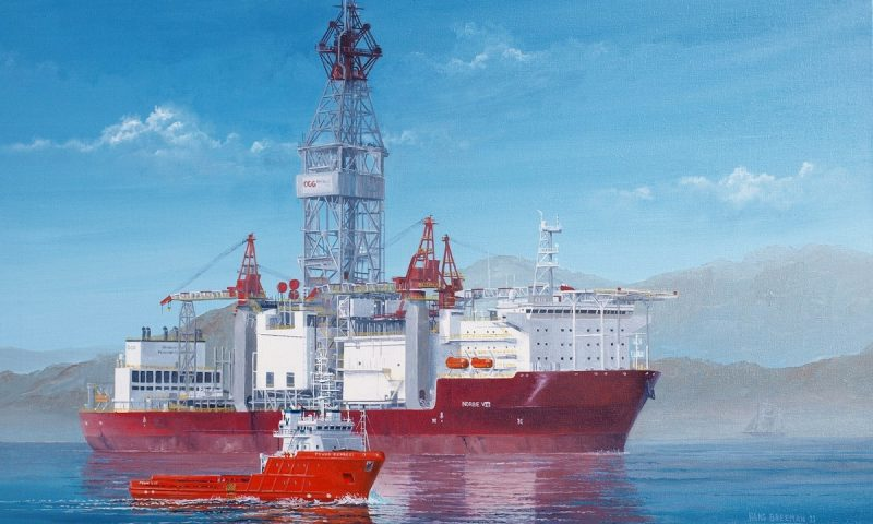 Ocyan Norbe VIII Rig Completes Drilling in Water Depths of Less than 500 Meters