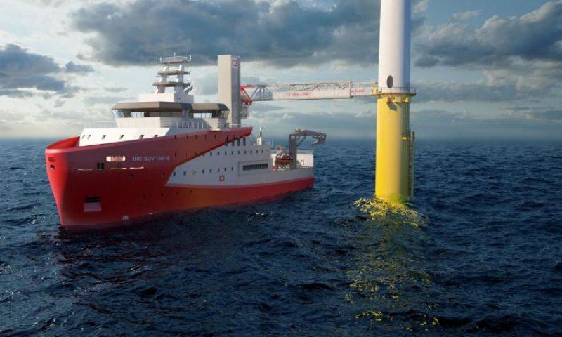 Royal IHC Marine Successfully Complete DP Testing on Autonomous SOV