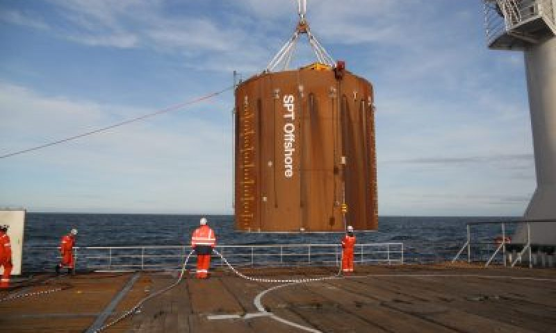SPT Offshore Completes Suction Pile Test for Seagreen Offshore Windfarm