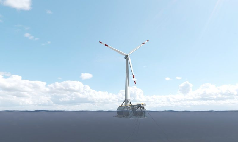 Saitec First Grid-Connected Floating Wind Turbine Spain, DemoSATH