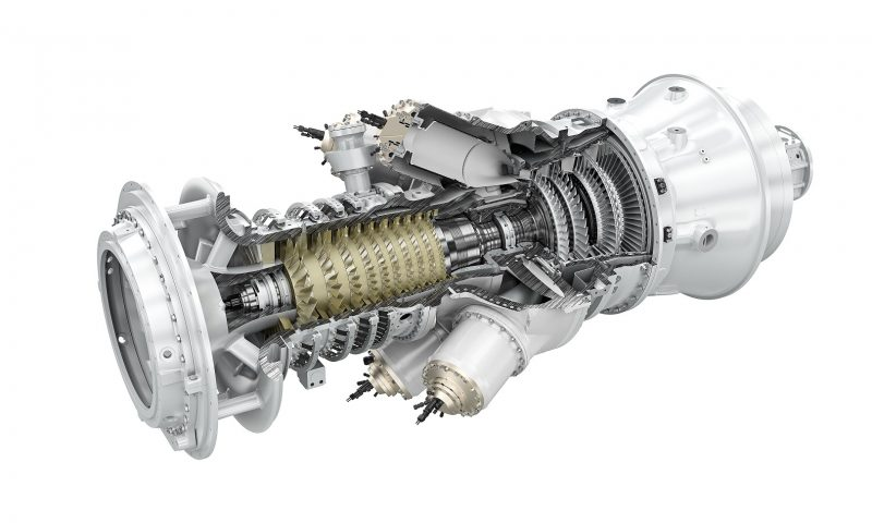 Siemens SGT-300 industrial gas turbine generator Offshore Malaysia Petronas