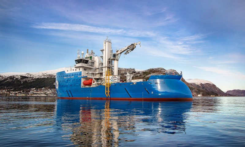 Ulstein Successfully Delivered Windea Jules Verne