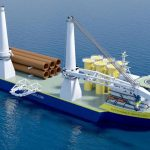 Offshoretronic´s Heavy lift vessels SUSTAINABLE INSTALLER I & II