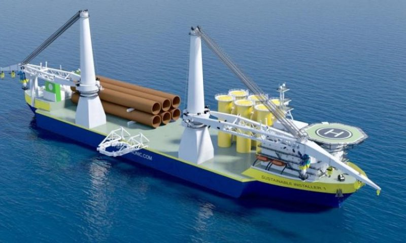 Offshoretronic´s Heavy lift vessels SUSTAINABLE INSTALLER I & II
