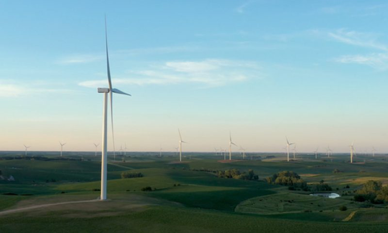 Ørsted Completes the Onshore Plum Creek Wind Project