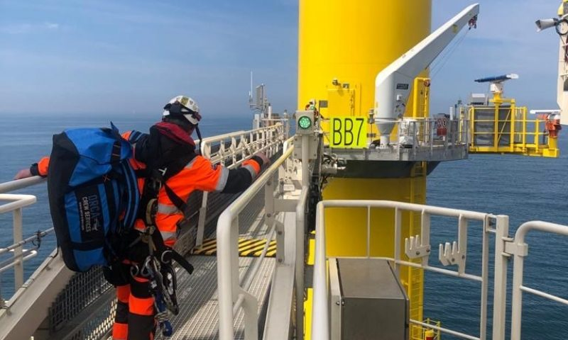 Ørsted and Van Oord Complete All Array Cables of the Borssele I & II