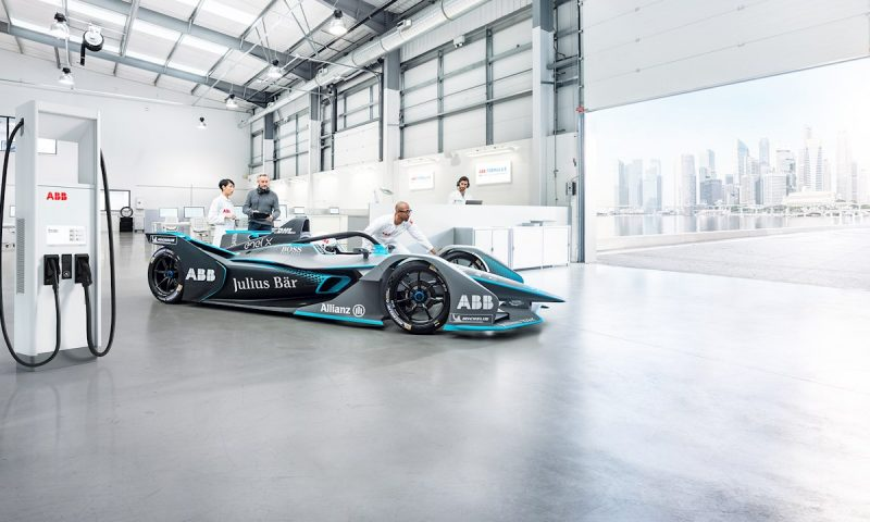 ABB to Supply Charging Technology for ABB FIA Formula E World Championship