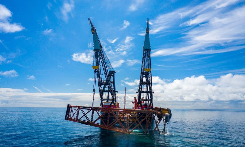 Heerema's Sleipnir Breaks Records at the Jotun Field