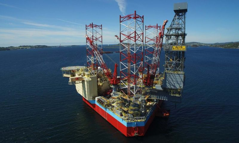 Maersk Drilling Awarded One-Well Contract Maersk Integrator under Aker BP