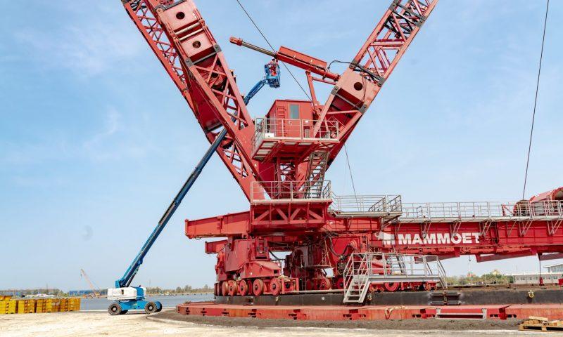 Mammoet-Giant JV Supports Taiwan's Wind Turbine Jacket Foundations