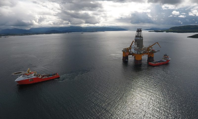 Odfjell Drilling's Deepsea Stavanger starts mobilization to South Africa