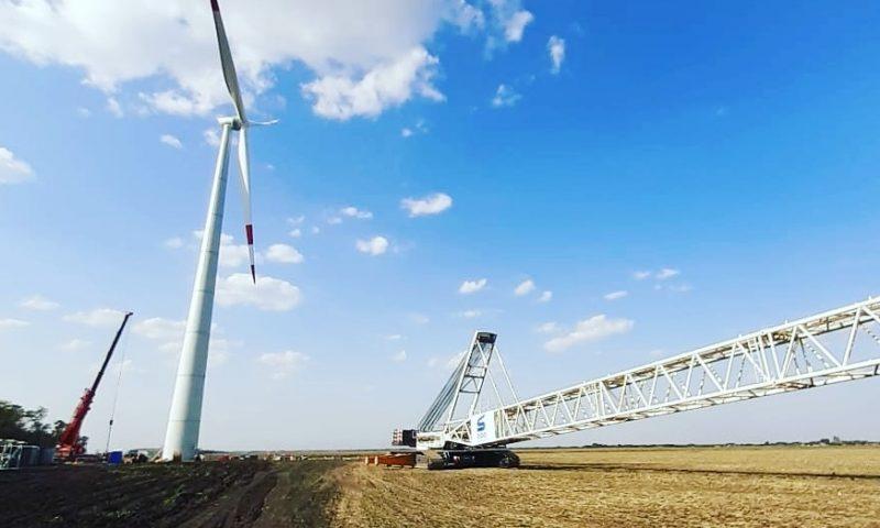 Sarens Installed 30 WTG Lagerwey Wind Turbines In Adygea, Russia