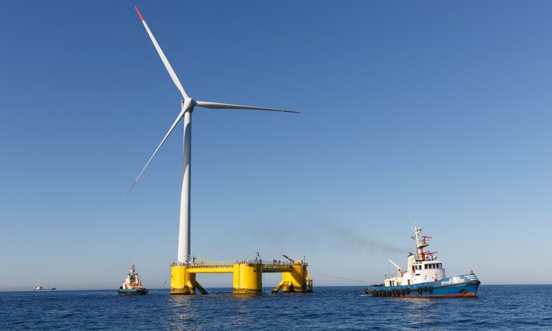 Simply Blue Energy Launch the Emerald Floating Offshore Wind Project