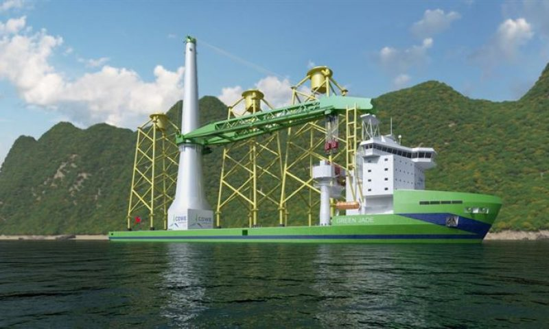 Wärtsilä's Bags Major Order with DEME for OIV Green Jade