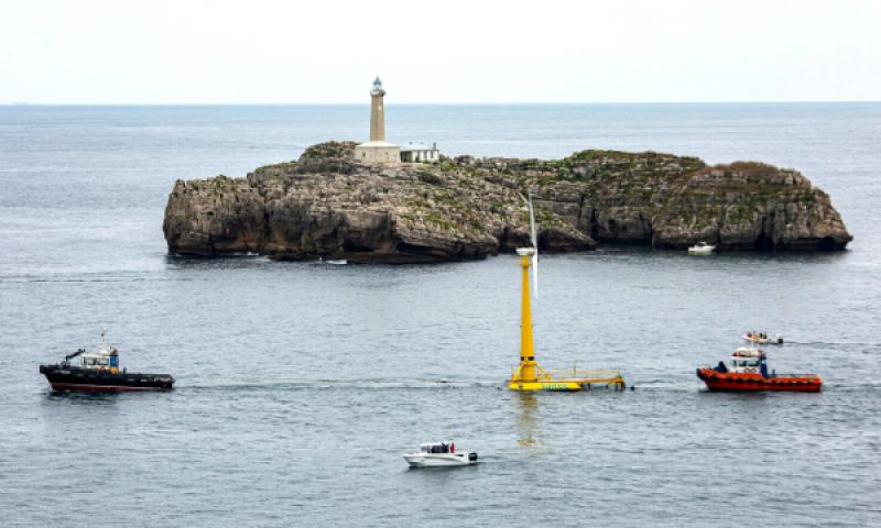 BlueSATH, Saitec's First Floating Wind Installation