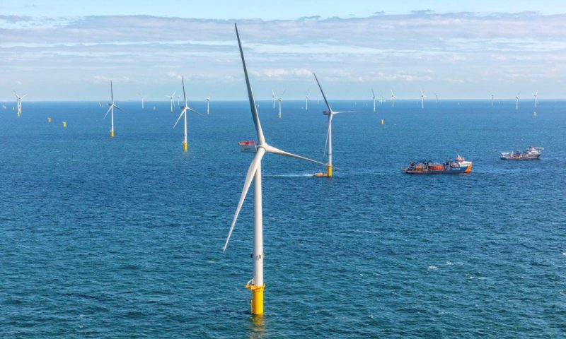 V164-9.5 MW MHI Vestas turbines, Borssele III/IV offshore wind project