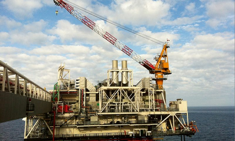 Offshore Liebherr Boss Crane