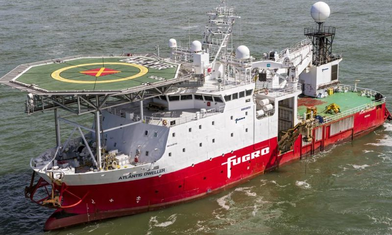 Fugro Crosswind Site Investigation for Hollandse Kust OWF